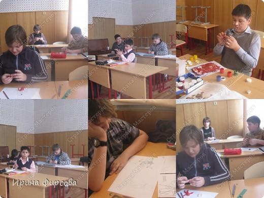 Урок рисования Аппликация Рисование и живопись ИЗО 6 класс Портрет По программе Б М Неменского Бумага Карандаш Картон Пластилин фото 4