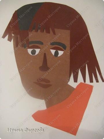 Урок рисования Аппликация Рисование и живопись ИЗО 6 класс Портрет По программе Б М Неменского Бумага Карандаш Картон Пластилин фото 1