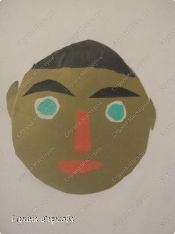 Урок рисования Аппликация Рисование и живопись ИЗО 6 класс Портрет По программе Б М Неменского Бумага Карандаш Картон Пластилин фото 2