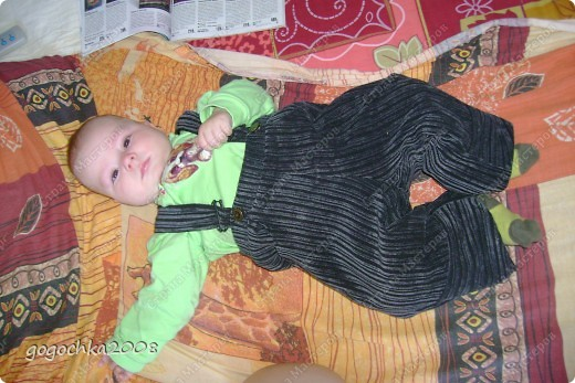 костюмчик для сынули фото 5