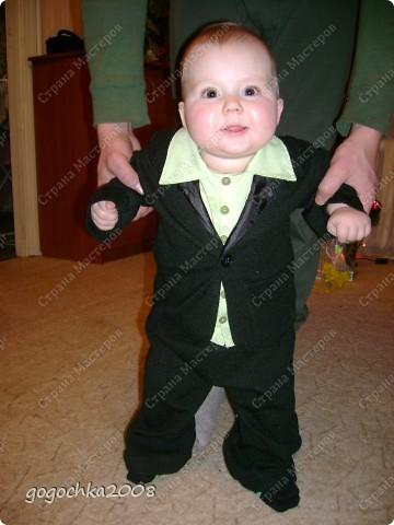 костюмчик для сынули фото 7