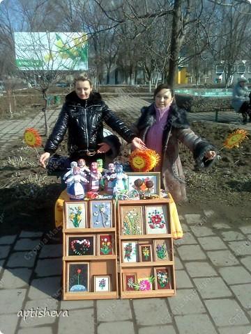 Это работы кружковцев, выставленные на продажу на праздник масленицы.  фото 1