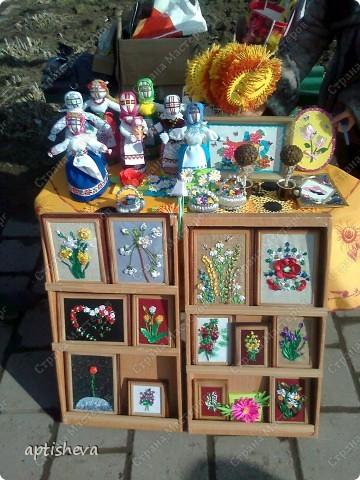 Это работы кружковцев, выставленные на продажу на праздник масленицы.  фото 2
