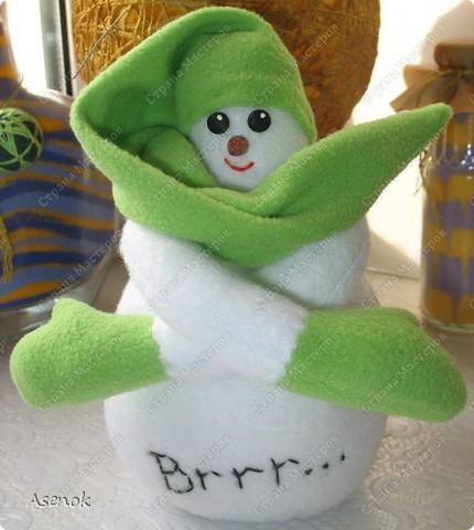 На улице весна, а у меня снеговик! фото 2