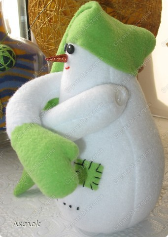 На улице весна, а у меня снеговик! фото 3