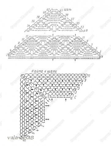 Схема узора Паучок Пряжа