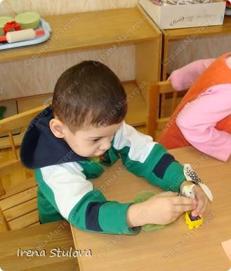 Насмотревшись http://stranamasterov.ru/node/160265 и попробовав сделать http://stranamasterov.ru/node/160827 птичек из салфеток по МК Татьяны Имполитовой, решила сделать их со своими малышами. :):):) фото 5