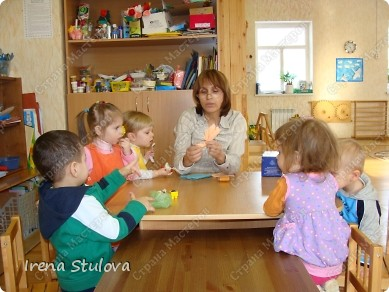 Насмотревшись http://stranamasterov.ru/node/160265 и попробовав сделать http://stranamasterov.ru/node/160827 птичек из салфеток по МК Татьяны Имполитовой, решила сделать их со своими малышами. :):):) фото 6