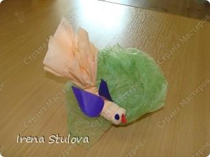 Насмотревшись http://stranamasterov.ru/node/160265 и попробовав сделать http://stranamasterov.ru/node/160827 птичек из салфеток по МК Татьяны Имполитовой, решила сделать их со своими малышами. :):):) фото 9