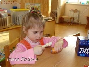 Насмотревшись http://stranamasterov.ru/node/160265 и попробовав сделать http://stranamasterov.ru/node/160827 птичек из салфеток по МК Татьяны Имполитовой, решила сделать их со своими малышами. :):):) фото 10