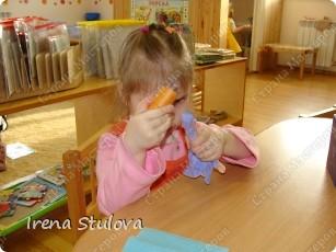 Насмотревшись http://stranamasterov.ru/node/160265 и попробовав сделать http://stranamasterov.ru/node/160827 птичек из салфеток по МК Татьяны Имполитовой, решила сделать их со своими малышами. :):):) фото 11