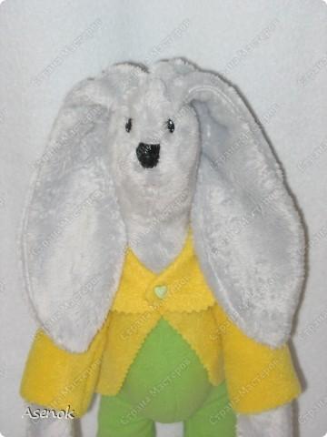 Пасхальный кролик с яйцом :) фото 2