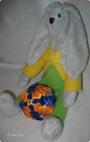 Пасхальный кролик с яйцом :) фото 5