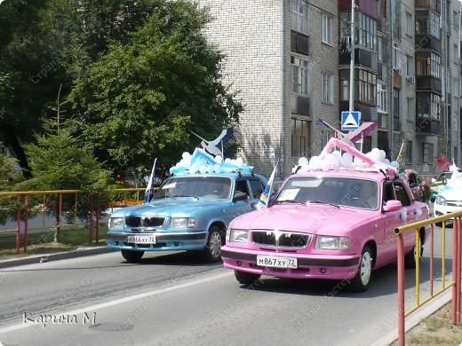 Случайно по дороге увидела пробег разных ретро авто и украшенных  автомобилей. фото 8