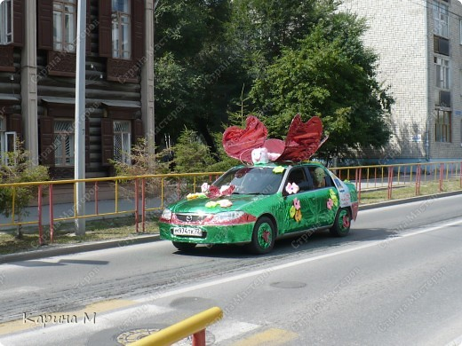 Случайно по дороге увидела пробег разных ретро авто и украшенных  автомобилей. фото 10
