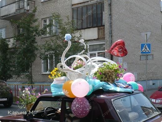 Случайно по дороге увидела пробег разных ретро авто и украшенных  автомобилей. фото 12