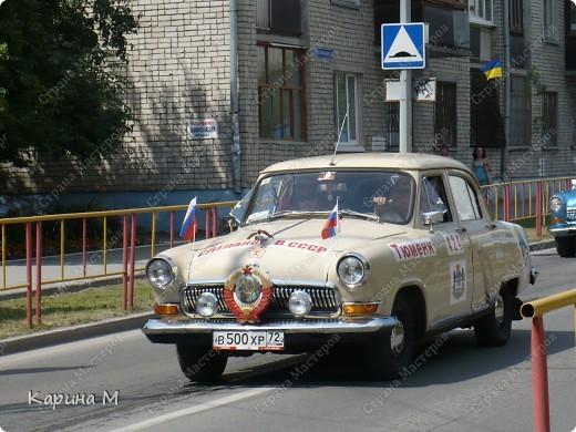 Случайно по дороге увидела пробег разных ретро авто и украшенных  автомобилей. фото 13