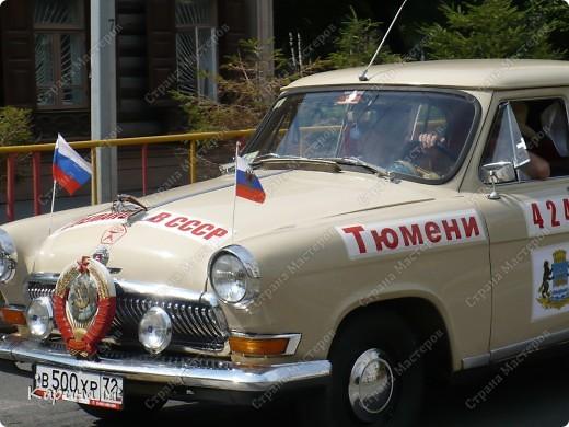 Случайно по дороге увидела пробег разных ретро авто и украшенных  автомобилей. фото 14
