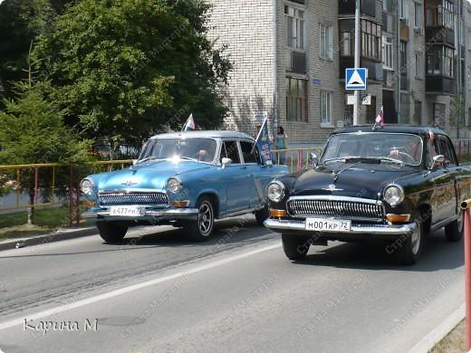 Случайно по дороге увидела пробег разных ретро авто и украшенных  автомобилей. фото 15