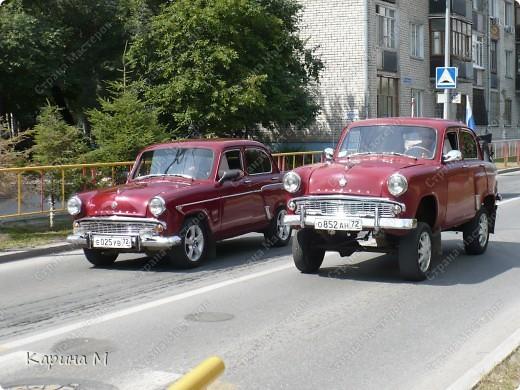Случайно по дороге увидела пробег разных ретро авто и украшенных  автомобилей. фото 18