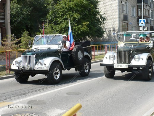 Случайно по дороге увидела пробег разных ретро авто и украшенных  автомобилей. фото 20