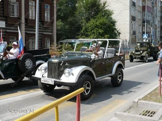 Случайно по дороге увидела пробег разных ретро авто и украшенных  автомобилей. фото 21