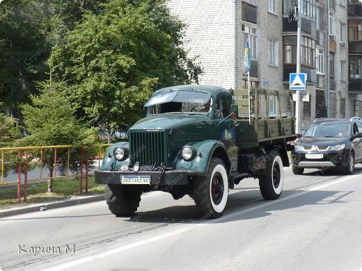 Случайно по дороге увидела пробег разных ретро авто и украшенных  автомобилей. фото 24