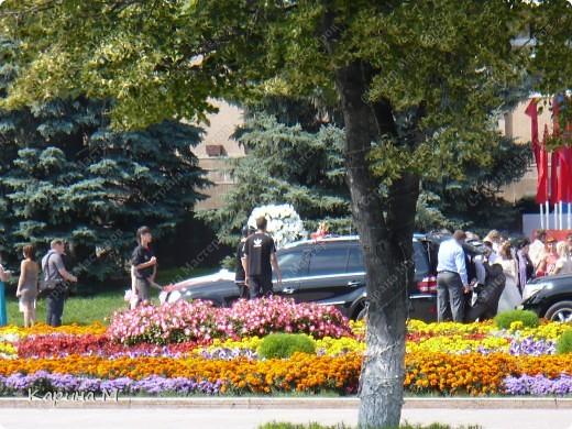 Случайно по дороге увидела пробег разных ретро авто и украшенных  автомобилей. фото 27