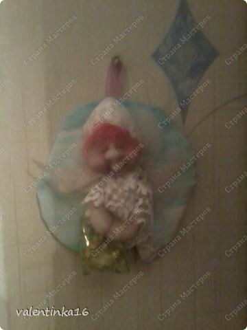 вот такая у меня получилась Сплюша с крылышками фото 3