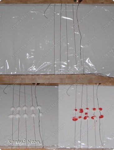 Клей ПВА и проволока, и немного бумажного скотча.  !!! Захотелось сделать деревце, но материалов особых небыло. Вот я и решил сделать листики из клея.  Листики делал около 30-минут, А потом ночь ждём, когда высохнет клей.   фото 2