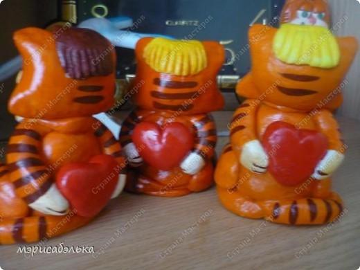 Влюбленные котики фото 5