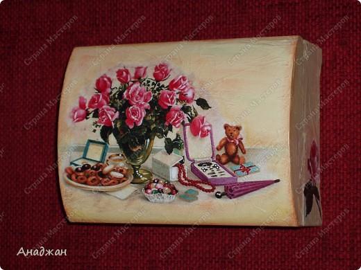 """""""Розовое настроение"""" Основа дерево. Имитация рисовой бумаги. Рисовая карта, акриловые краски, пастель. фото 1"""