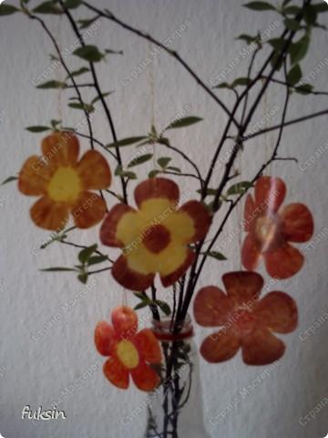 Пришла весна,на деревьях расцвели цветы ... из пластика фото 1