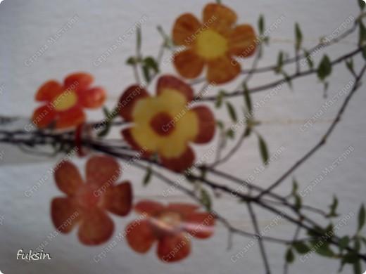 Пришла весна,на деревьях расцвели цветы ... из пластика фото 4