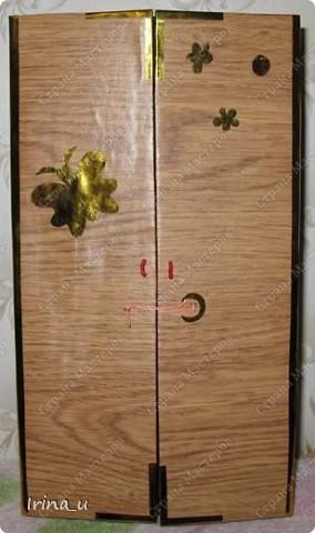 Вот такой у нас получился шкаф для кукол. Шкаф при закрытых дверях. фото 1