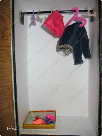 Вот такой у нас получился шкаф для кукол. Шкаф при закрытых дверях. фото 5