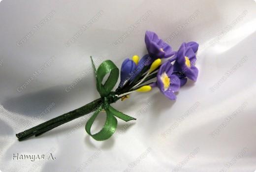 """Одарив сотрудниц """"цветами"""" на 8 марта....одна попросила сделать подарки для ее подруг.....Но....обязательно с булавочкой, чтобы закрепить на одежде.....  фото 1"""