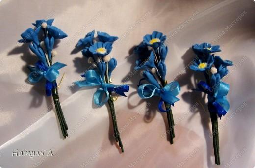 """Одарив сотрудниц """"цветами"""" на 8 марта....одна попросила сделать подарки для ее подруг.....Но....обязательно с булавочкой, чтобы закрепить на одежде.....  фото 3"""