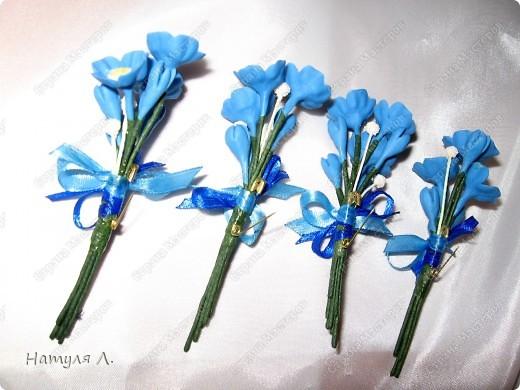 """Одарив сотрудниц """"цветами"""" на 8 марта....одна попросила сделать подарки для ее подруг.....Но....обязательно с булавочкой, чтобы закрепить на одежде.....  фото 4"""