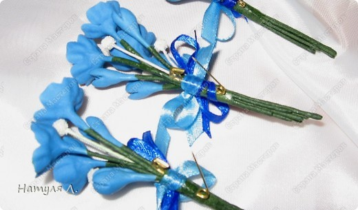 """Одарив сотрудниц """"цветами"""" на 8 марта....одна попросила сделать подарки для ее подруг.....Но....обязательно с булавочкой, чтобы закрепить на одежде.....  фото 5"""