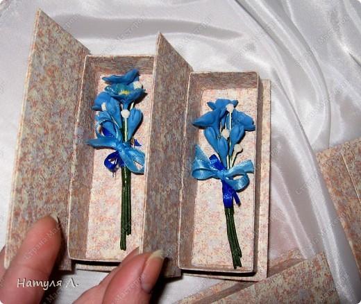 """Одарив сотрудниц """"цветами"""" на 8 марта....одна попросила сделать подарки для ее подруг.....Но....обязательно с булавочкой, чтобы закрепить на одежде.....  фото 7"""