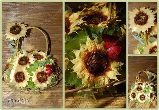 Корзинка тюльпанов и нарциссов :) Подарила свекрови :) фото 3