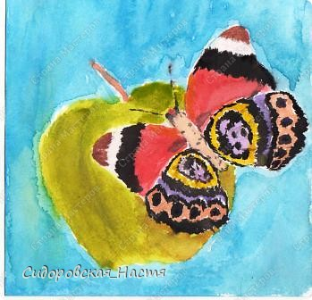 """""""Бабочка на яблоке"""""""