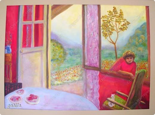 столовая. копия с картины Боннара фото 1