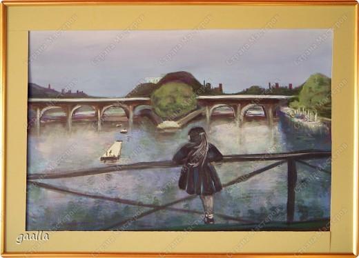 столовая. копия с картины Боннара фото 6