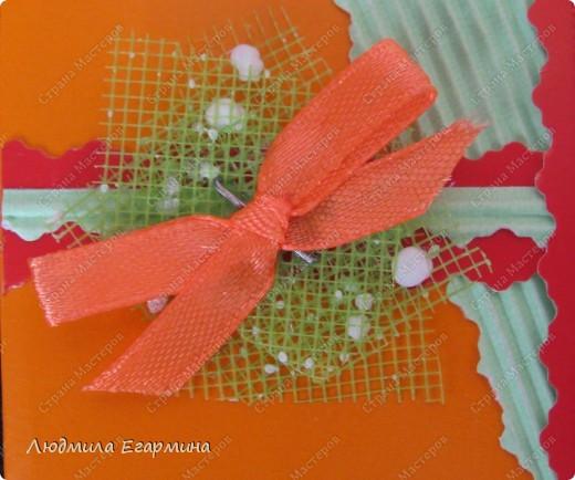 """Предлагаю вашему вниманию открытки из серии """"Самой обаятельной и привлекательной"""" для игры по скетчу http://stranamasterov.ru/node/159827. Используемые материалы: цветной картон, гофрированный картон, нитки мулине, канва, клей, бумага. фото 4"""
