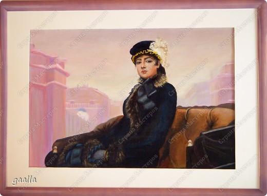 столовая. копия с картины Боннара фото 9