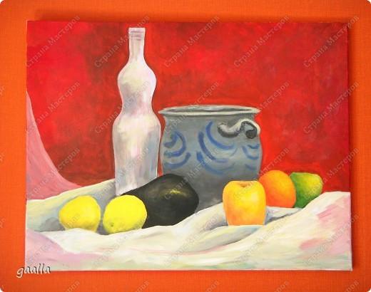 столовая. копия с картины Боннара фото 8