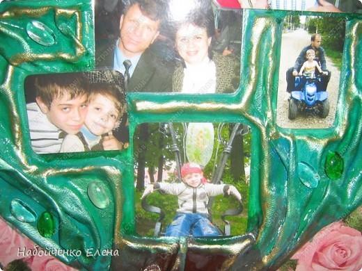 У младшего сына, в саду дали задание принести свое родословное дерево, я не стала делать на обычной бумаге, жалко потом эти работы быстро приходят в негодность, и я решила на память сделать картину в виде дерева. фото 3