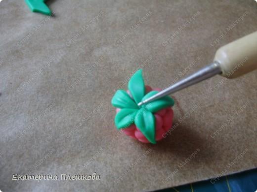 Изготовление этой малинки, мне кажется, самы простой способ. И давольно быстрый. фото 20